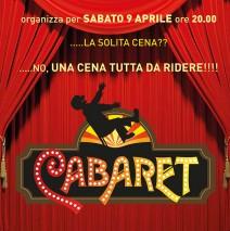 sabato 9 aprile cena cabaret